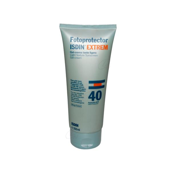 FOTOPROTECTOR ISDIN EXTREM SPF-40 TACTO LIGERO